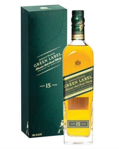 JOHNNIE WALKER GREEN LABEL - vinosbarcelona.com